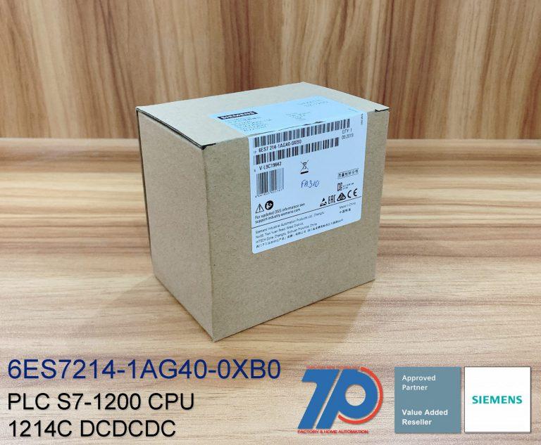 Tính năng của plc 6ES7214-1AG40-0XB0 CPU 1214C