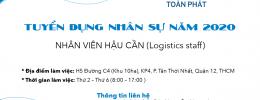[HR] NHÂN VIÊN HẬU CẦN (Logistics staff)