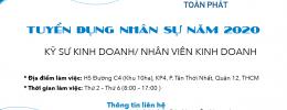 [HR] KỸ SƯ KINH DOANH/ NHÂN VIÊN KINH DOANH
