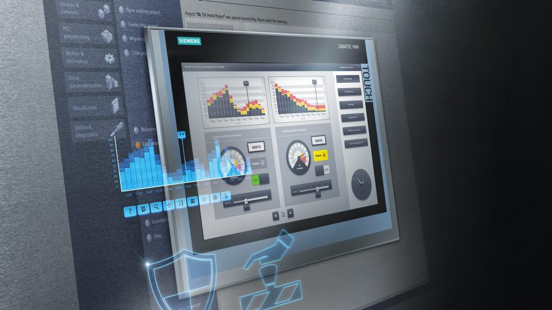 Màn hình HMI hỗ trợ PLC